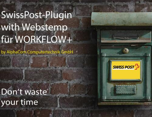 Swiss Post Plugin with WebStamp